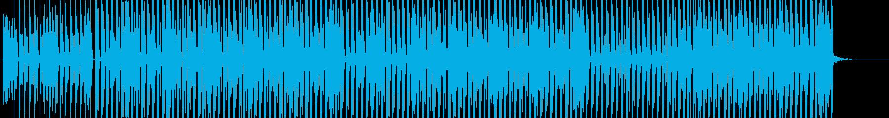 ヒップホップインストゥルメンタルは...の再生済みの波形
