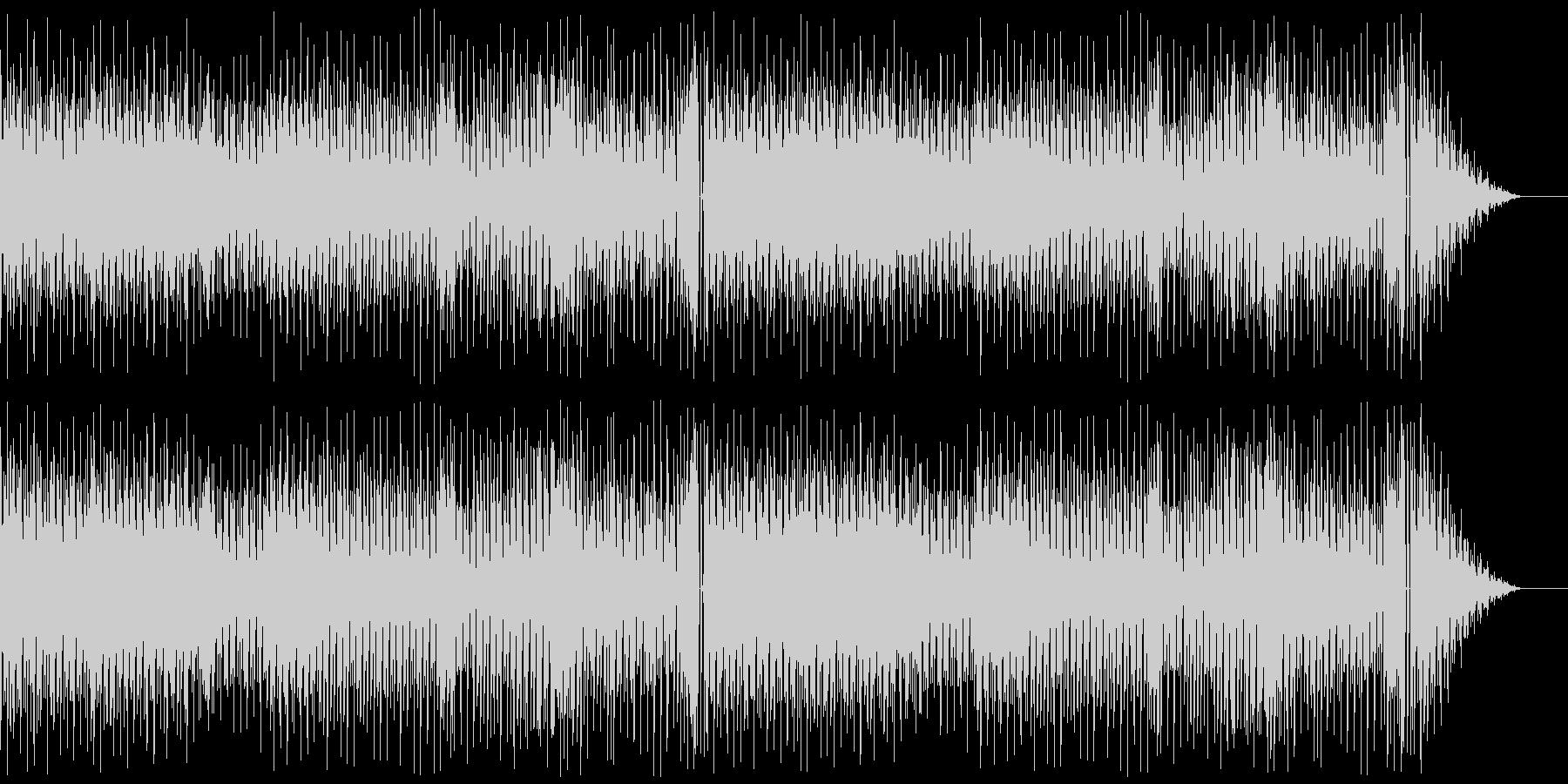 8bit トッカータとフーガ&小フーガの未再生の波形