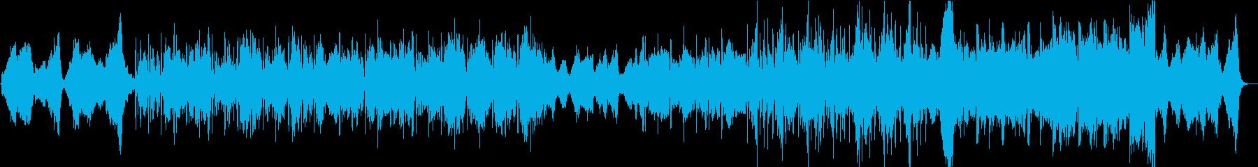アニメ】サイバー感あるクールなストリングの再生済みの波形