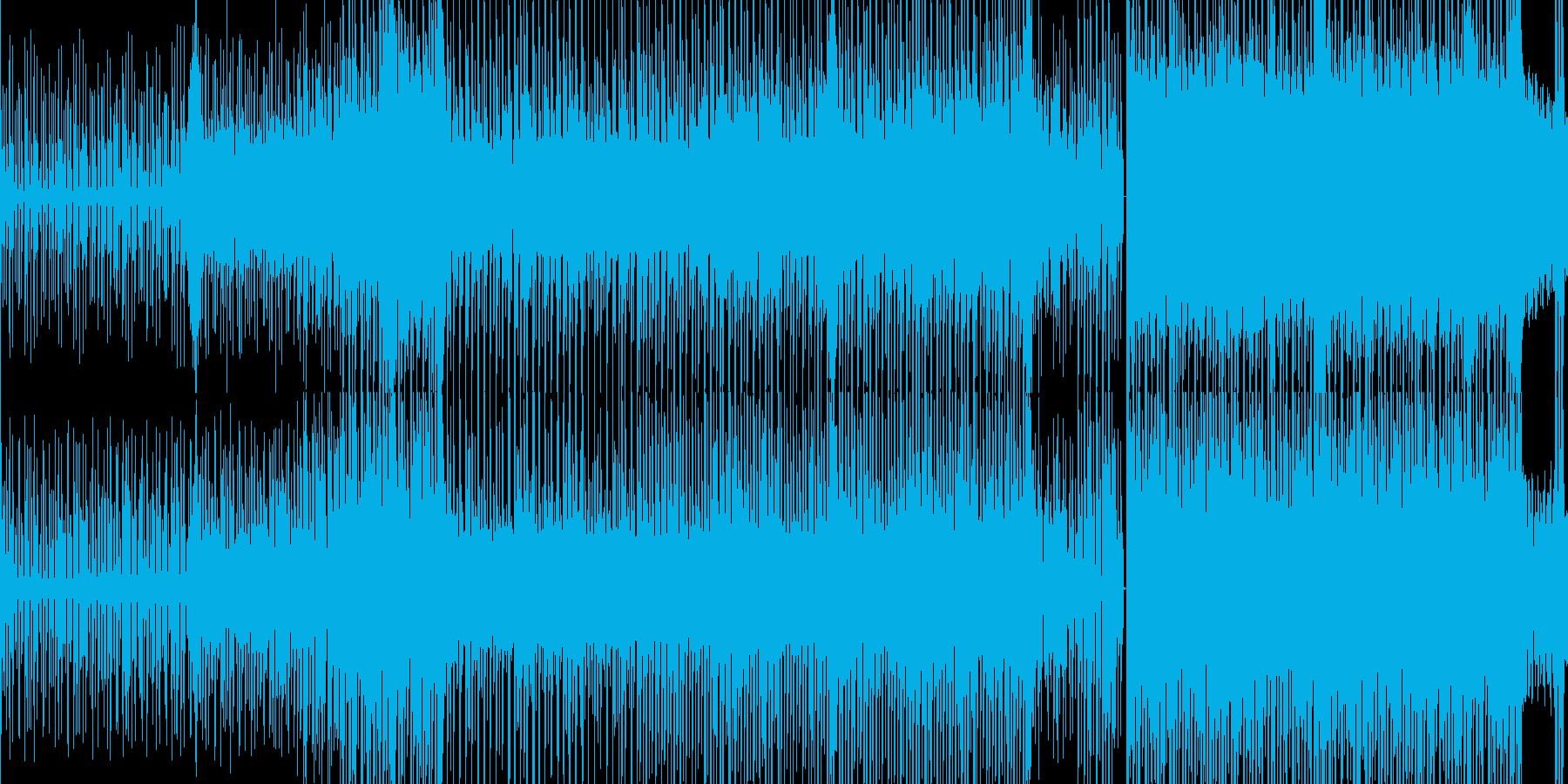ループ■ピコピコに笛が絡むテクノポップの再生済みの波形