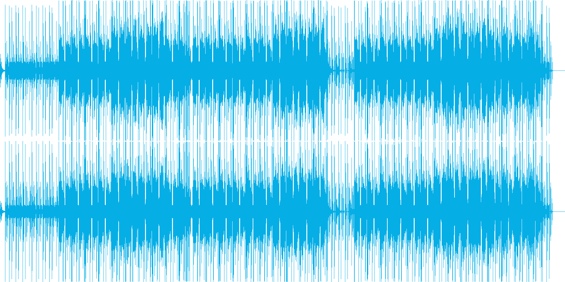 Fantastic, eerie and suspenseful tension's reproduced waveform