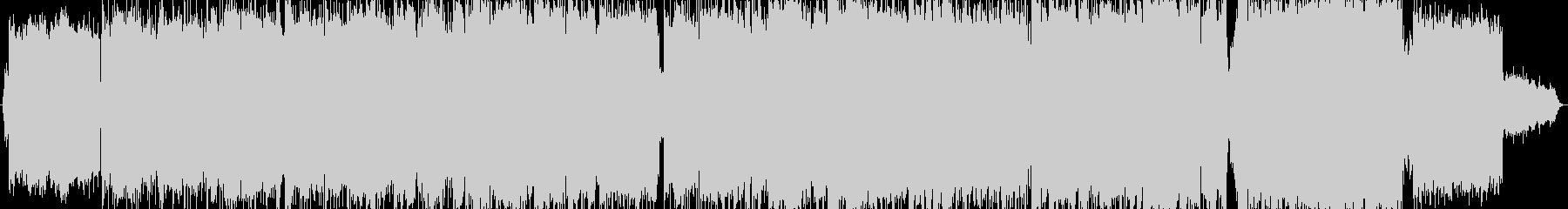 スパニッシュ系R&B風のバラードの未再生の波形