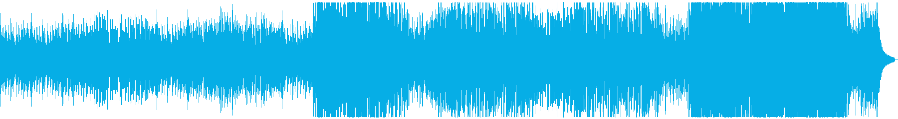 B U R N H O U S Eの再生済みの波形