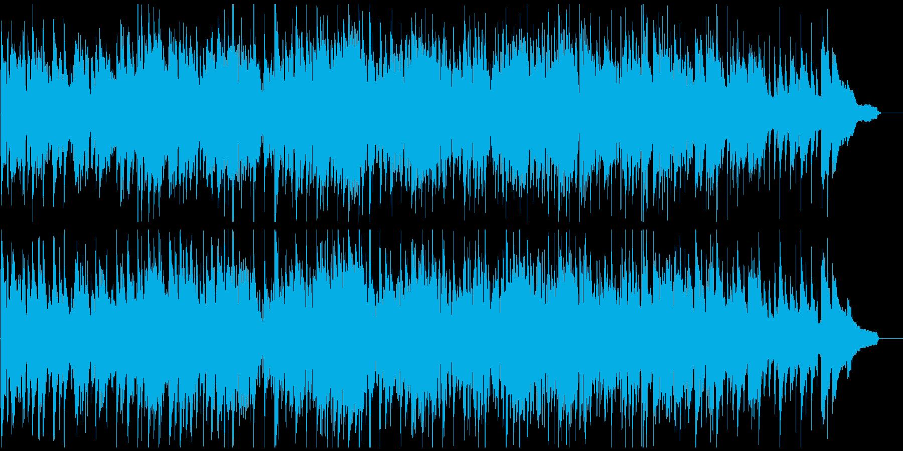 素敵で軽快なジャズ・ワルツ、SAX生演奏の再生済みの波形