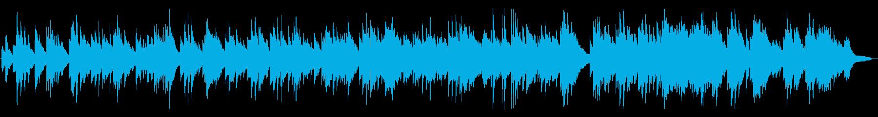 優しく、切ないワルツのピアノBGMの再生済みの波形