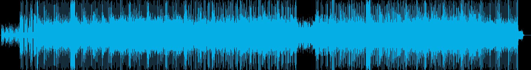 ドキドキとスピード感のシンセサウンドの再生済みの波形