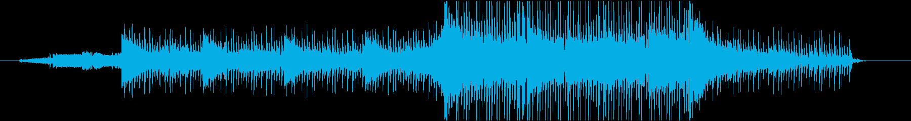 ピアノをテーマにした幻想的なバラードの再生済みの波形
