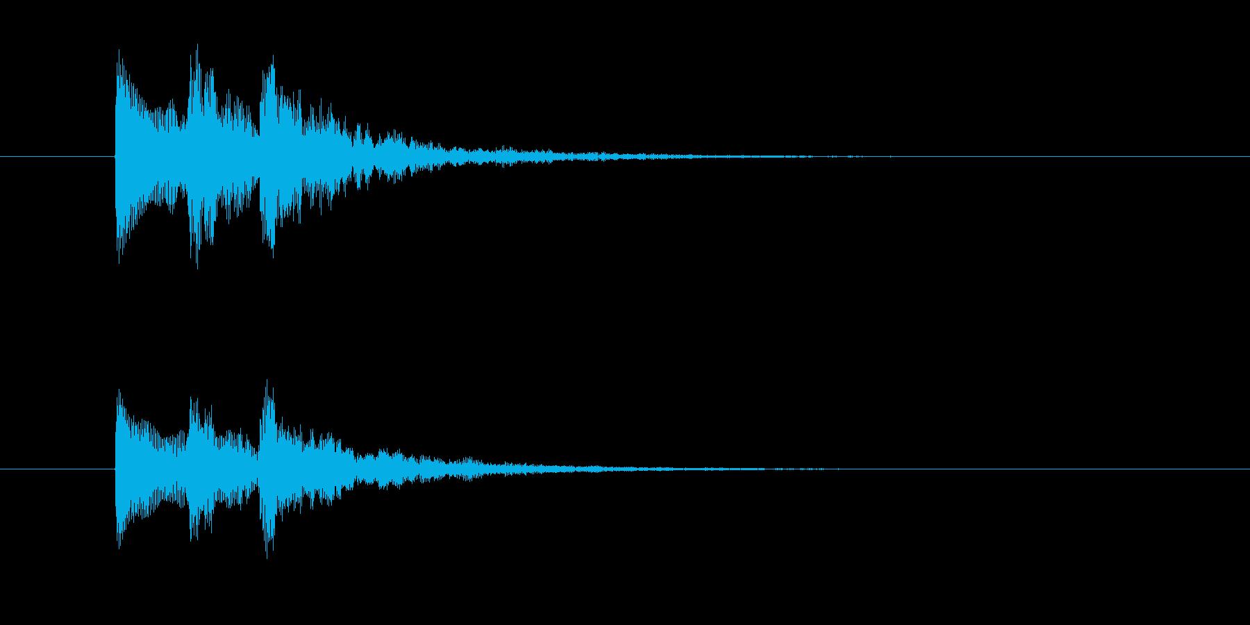 チャララン(シンセジングル)の再生済みの波形
