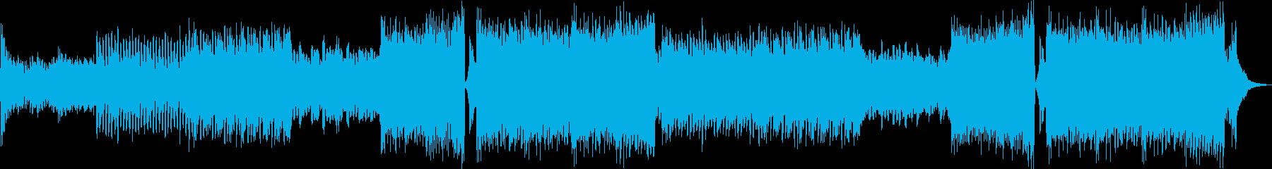 EDM・疾走感・切ない・ドラマチックの再生済みの波形