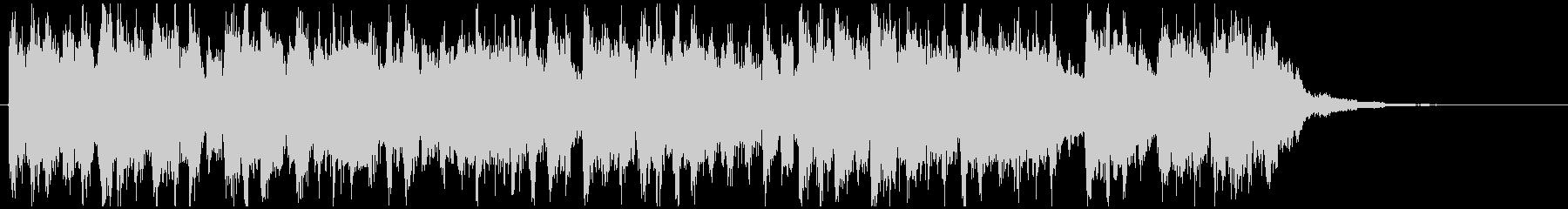 ジャジードラムンベース◆CM向け15秒曲の未再生の波形