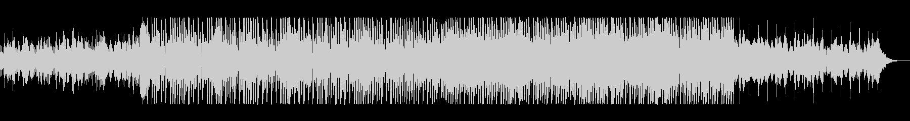 疾走感のあるピアノシンセサイザーサウンドの未再生の波形