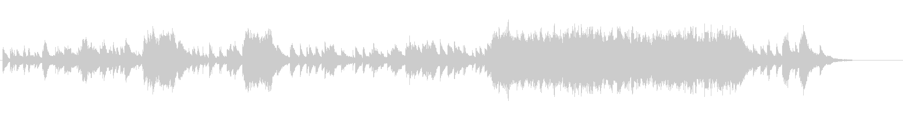 物悲しい雰囲気のピアノソロ曲(変拍子)の未再生の波形