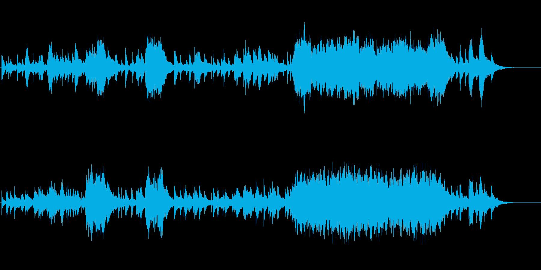 物悲しい雰囲気のピアノソロ曲(変拍子)の再生済みの波形