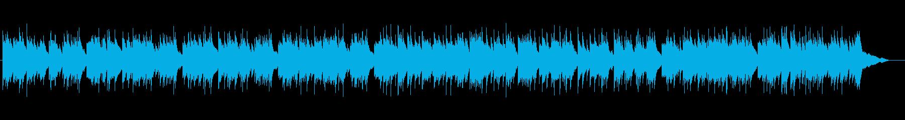 期待感を感じるピアノ曲の再生済みの波形