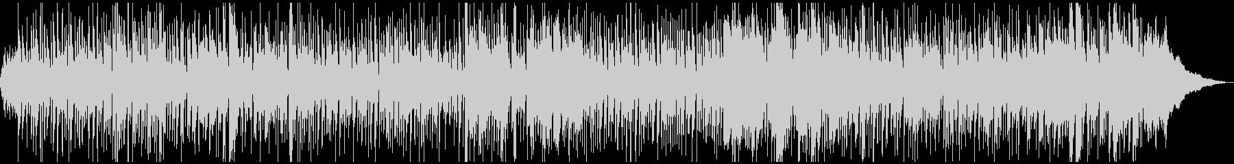 生演奏・エレピとストリングスのボサノバの未再生の波形