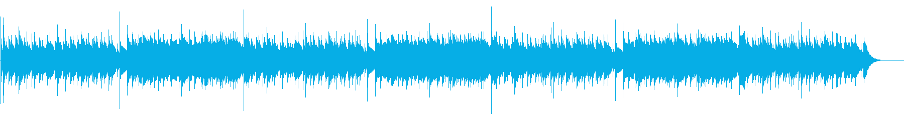 グリーンスリーブス / オルゴールの再生済みの波形