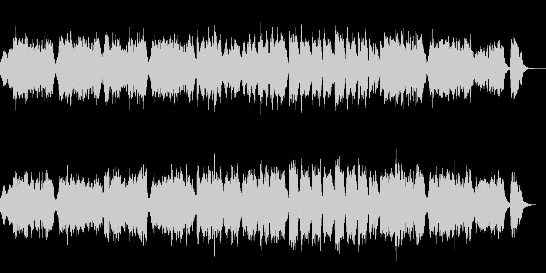 フォーレのシチリアーナをフルートに編曲の未再生の波形