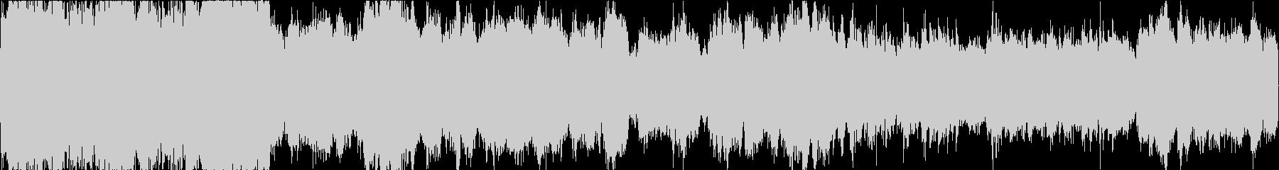 雄大な雰囲気のフィールド向けBGMの未再生の波形