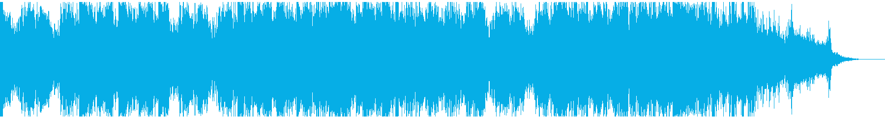 鮮やかなピアノアルペジオ&パーカッションの再生済みの波形