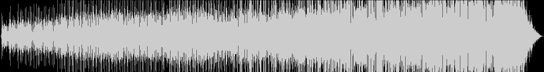 レトロ、奇妙なシンセサウンドBGMの未再生の波形