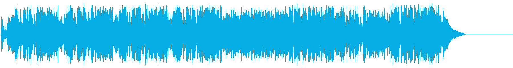 アップテンポスイングのショウタイムジャズの再生済みの波形