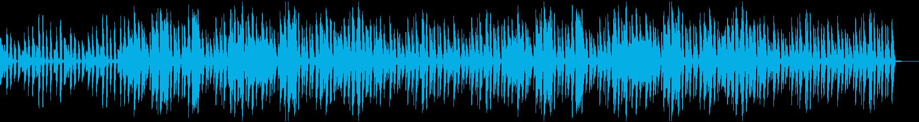 ボサノヴァ風 ほのぼのしたギターサウンドの再生済みの波形