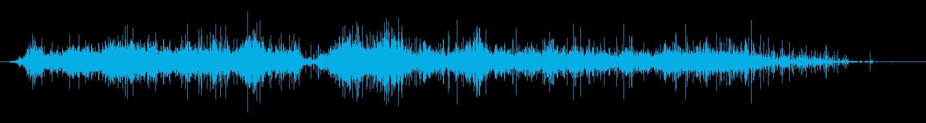 ビニール袋:重いしわの再生済みの波形