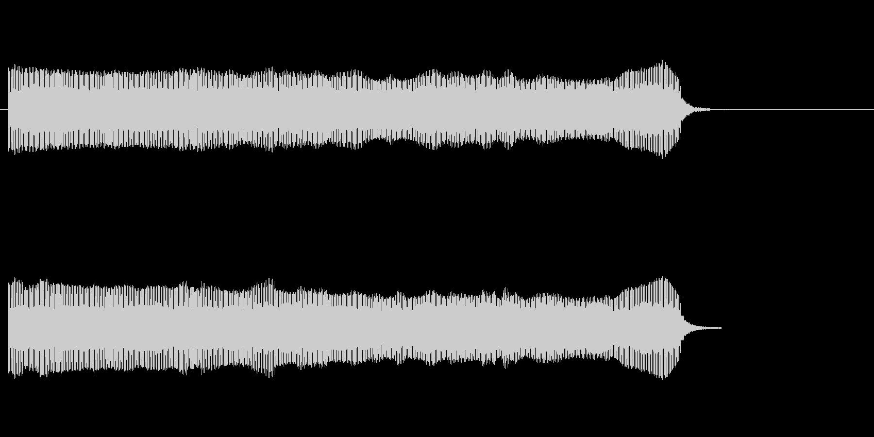 [生録音]コンサート開始のブザーの未再生の波形