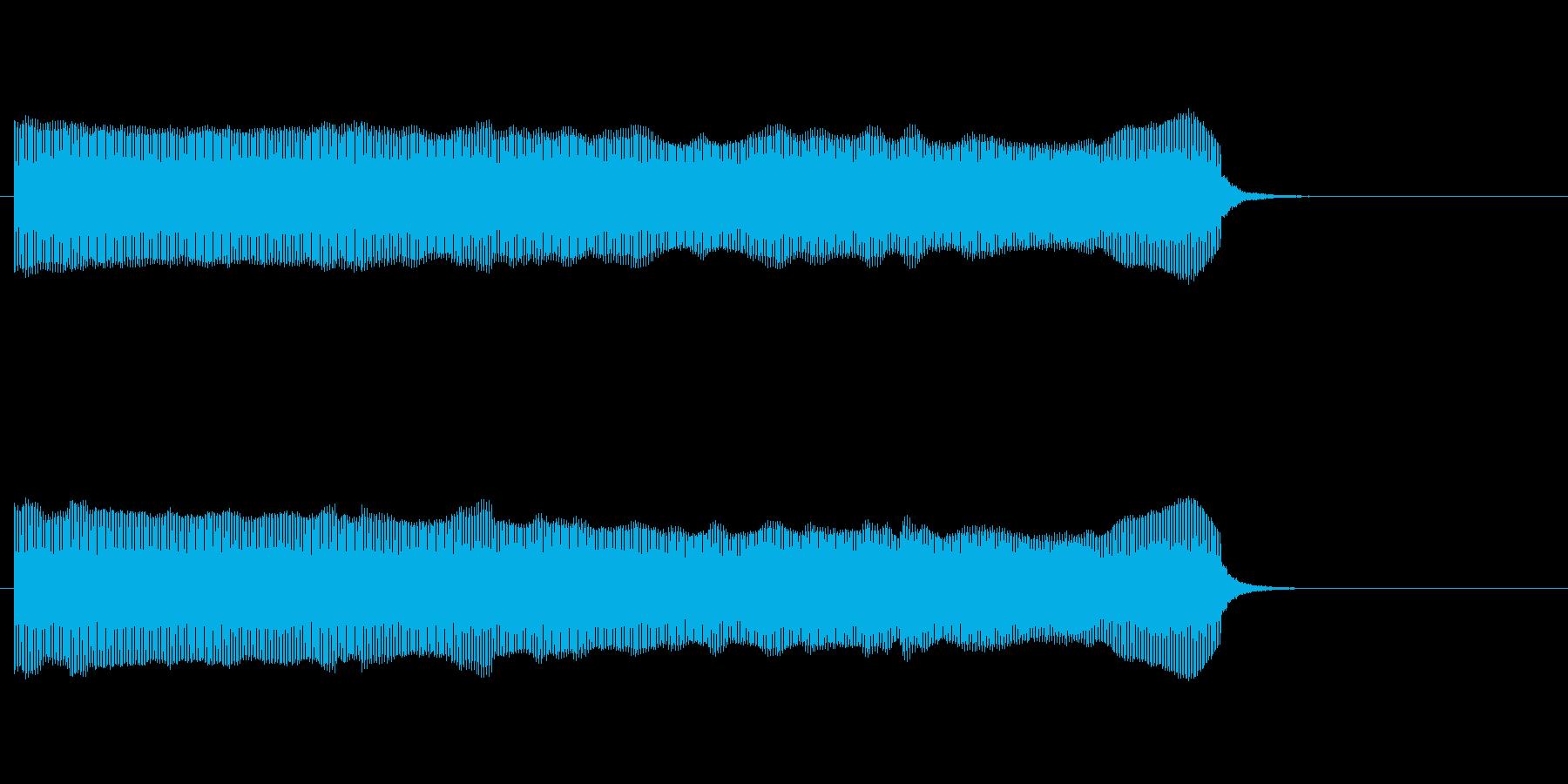 [生録音]コンサート開始のブザーの再生済みの波形