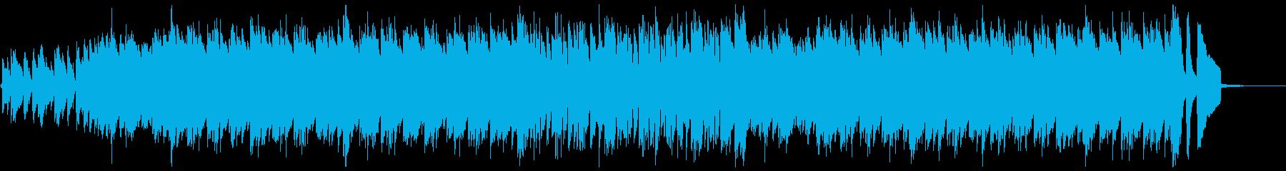 ウクレレ・ハッピー・ポジティブ・明るいBの再生済みの波形