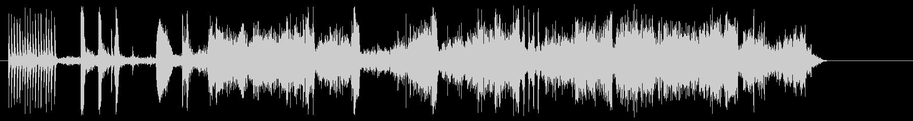 インテリアトラムとベルの未再生の波形