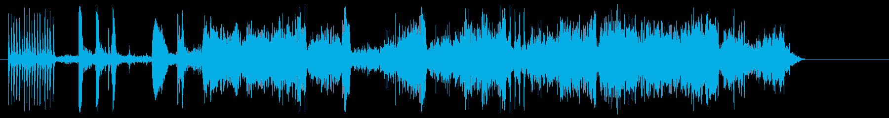 インテリアトラムとベルの再生済みの波形