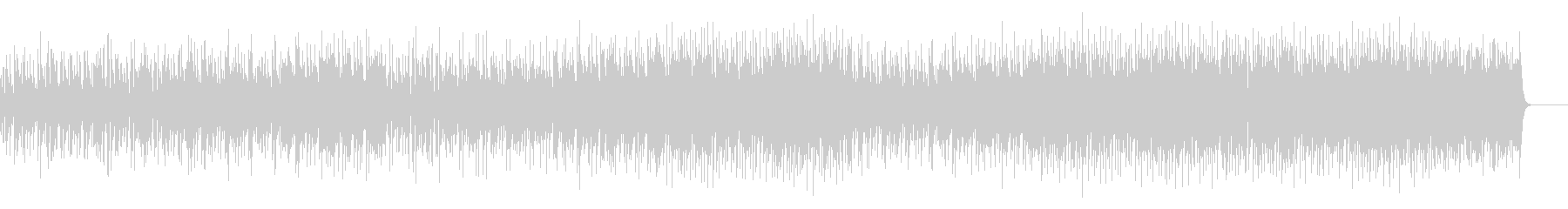 小粋なポップ・フュージョンの未再生の波形
