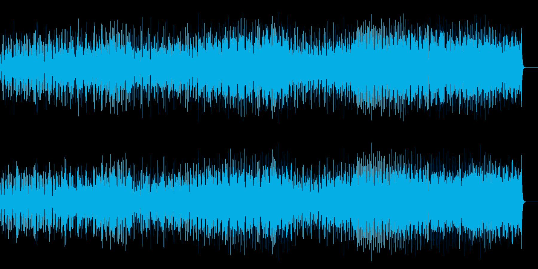 小粋なポップ・フュージョンの再生済みの波形