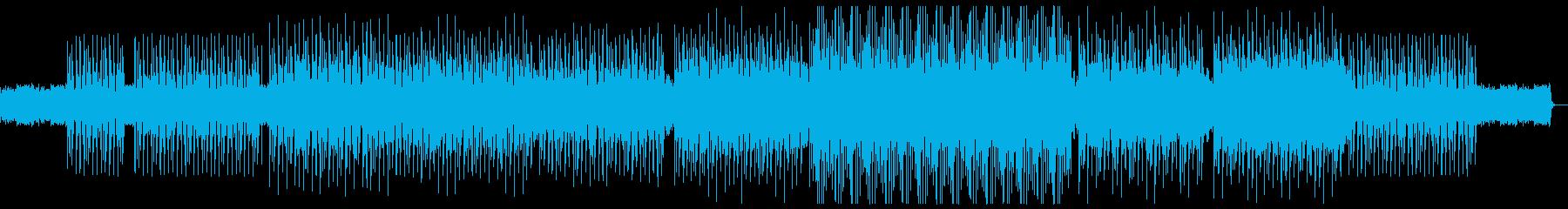 オシャレでクールなディープハウスの再生済みの波形