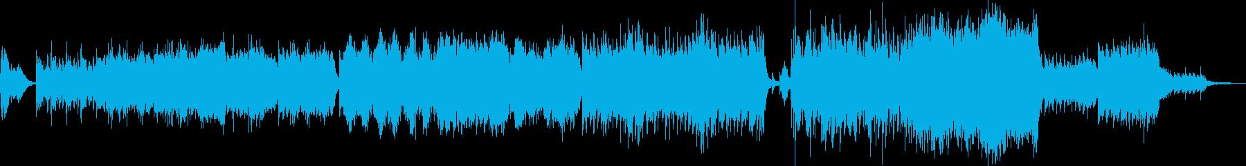 爽快なオーケストラポップスの再生済みの波形