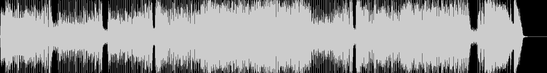 ❶Gt生演奏♫最高ロカビリー・スウィングの未再生の波形