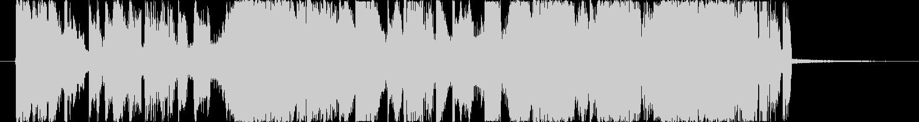 15秒CM インパクト 躍動感 EDMの未再生の波形