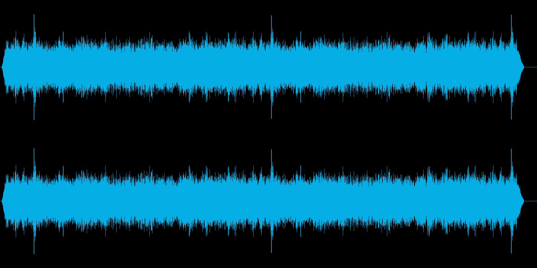 背景音 雪山 2の再生済みの波形