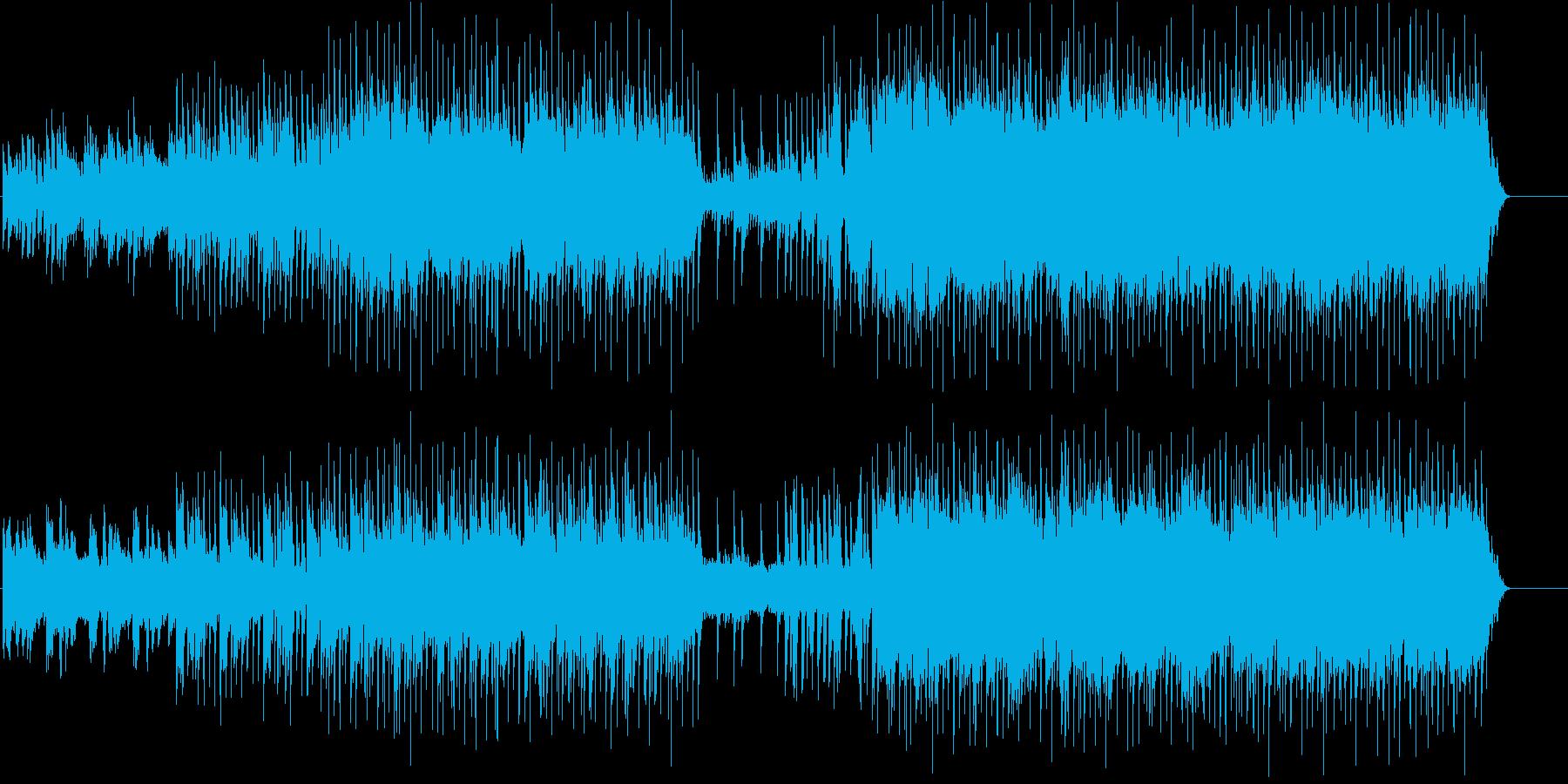 ファンタジーRPG等の草原をイメージし…の再生済みの波形
