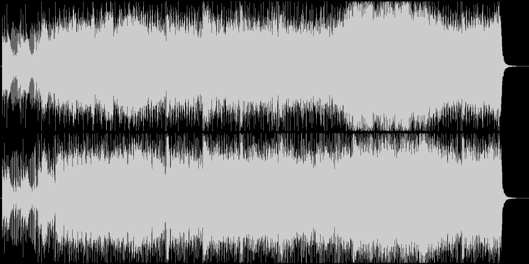 動画やラジオなどの挿入歌としても利用可能の未再生の波形