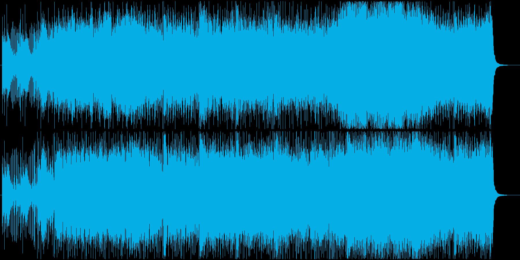 動画やラジオなどの挿入歌としても利用可能の再生済みの波形