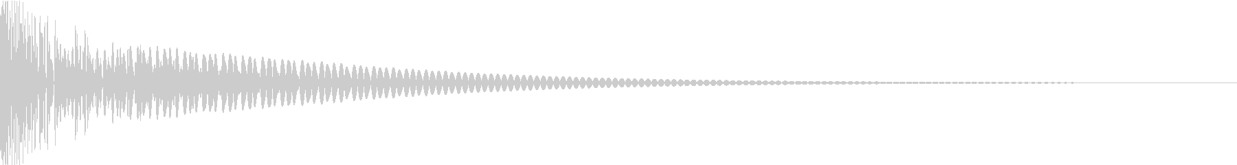 DTM Tom 6 オリジナル音源の未再生の波形