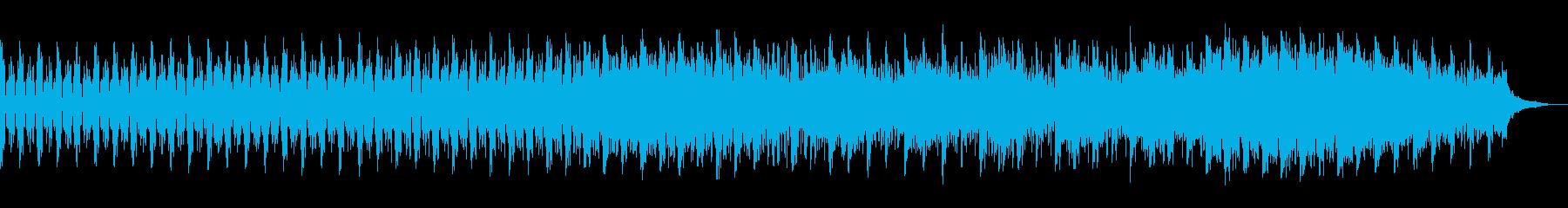 ちょっと可愛いSF感のあるエレクトロニカの再生済みの波形