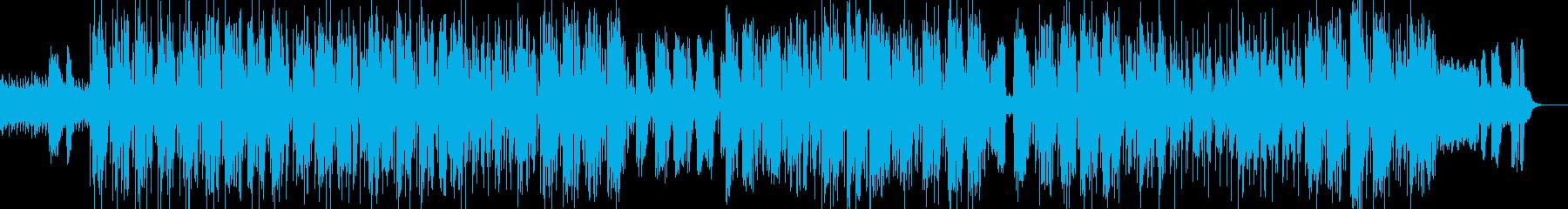 ポップレゲエのクリスマスソングの再生済みの波形