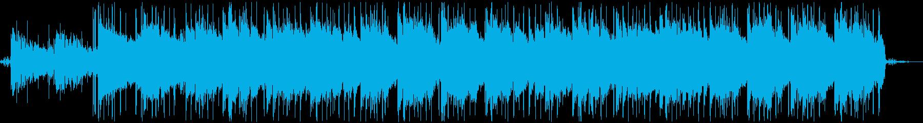 透明感のあるLoFi/Chillhopの再生済みの波形
