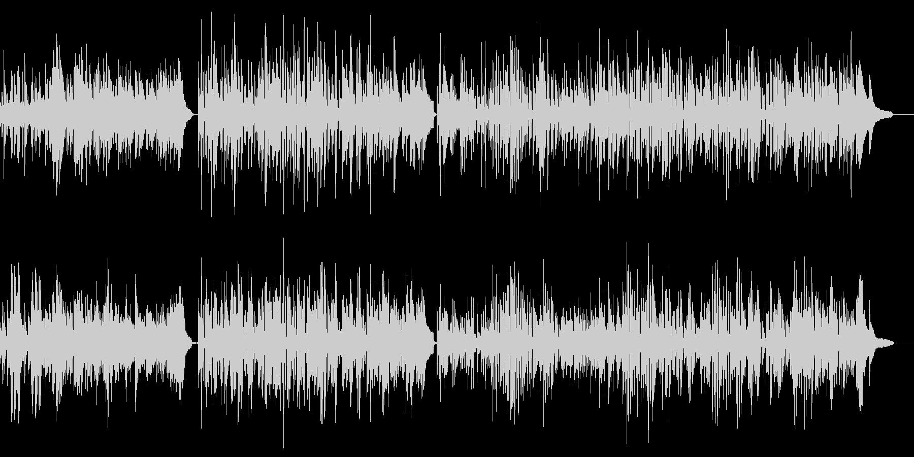 クラシックピアノ名曲 軽快で明るいソナタの未再生の波形