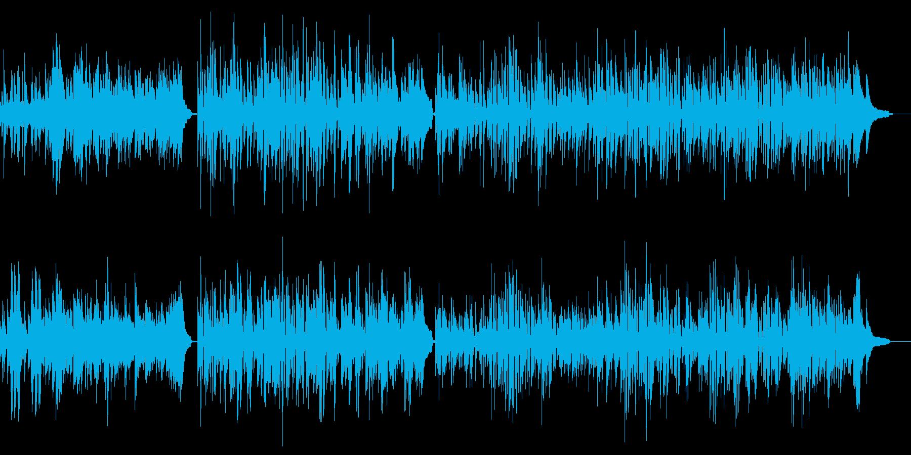 クラシックピアノ名曲 軽快で明るいソナタの再生済みの波形
