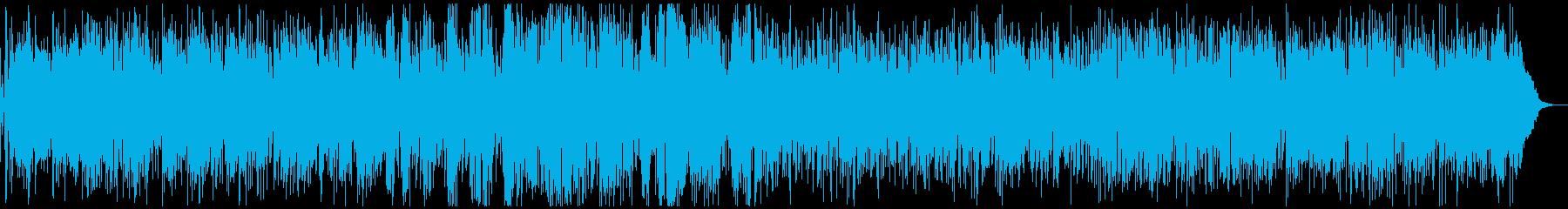【生演奏】おしゃれな大人のカフェボサノバの再生済みの波形