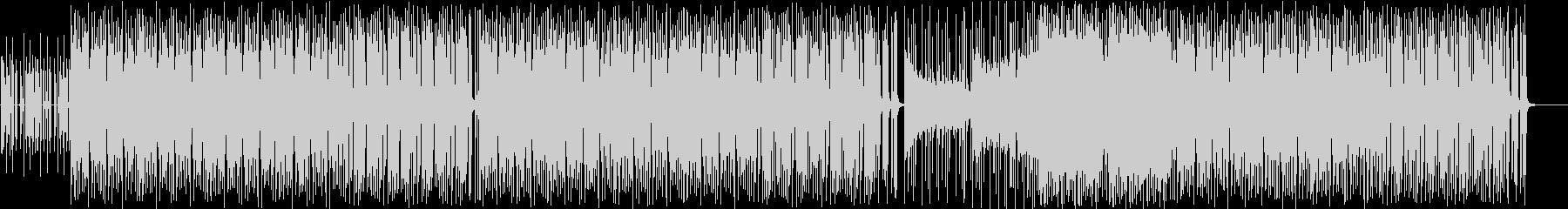 大人な雰囲気のオシャレなインストBGMの未再生の波形